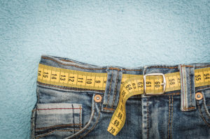 Jeans Showing Weight Loss
