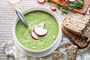 Refreshing Cucumber Soup by Veggie Campus