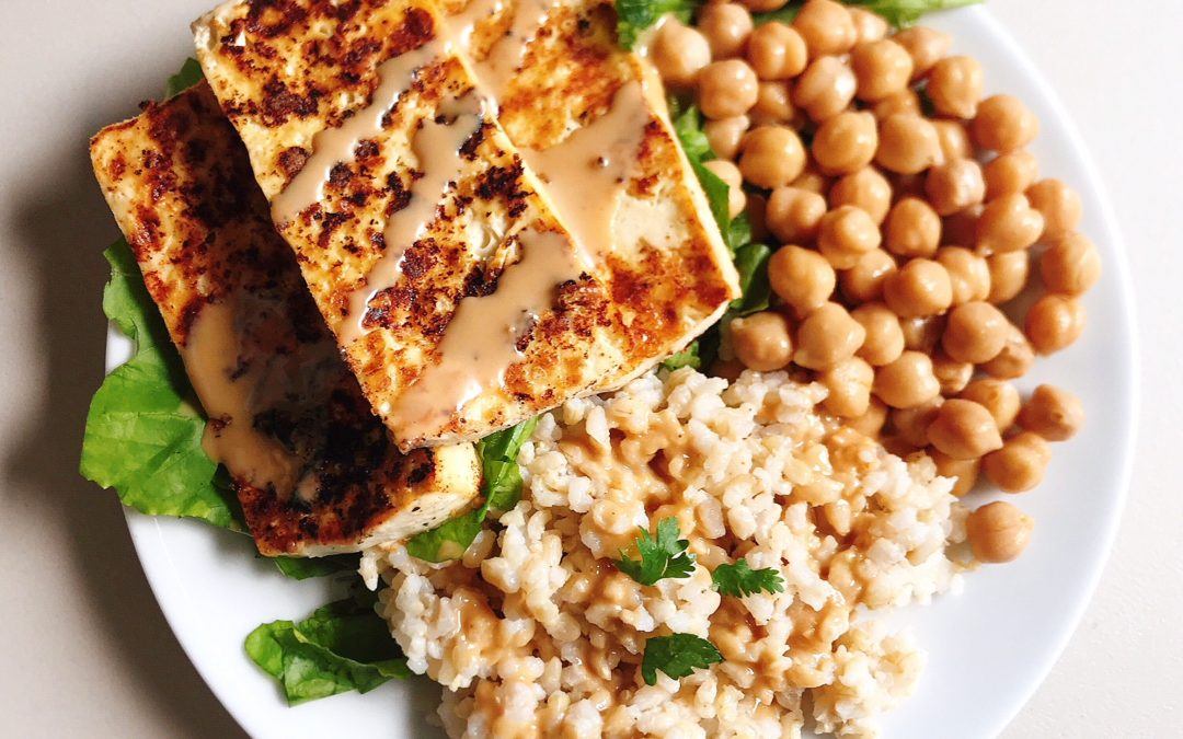 Oil-Free Tofu Steaks