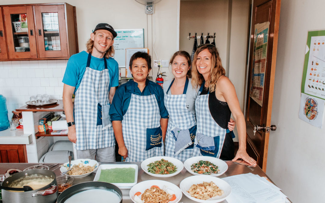Vegan Cooking Class in Yangon Myanmar