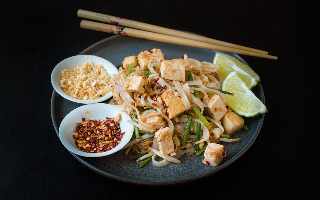 Vegan Pad Thai Noodles [Easy Version]