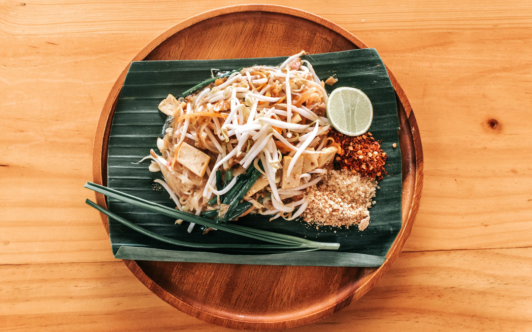 Traditional Vegan Pad Thai Noodles
