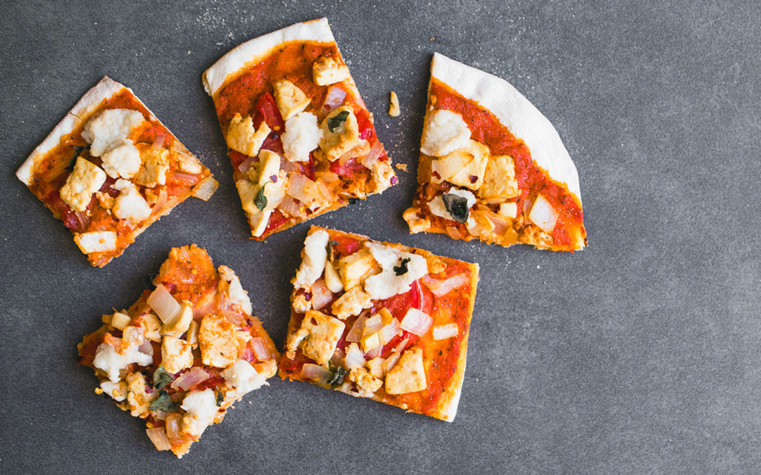 Vegan Tom Yum Pizza